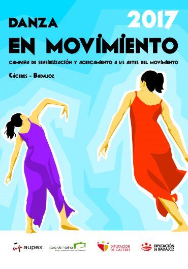 La campaña Danza en Movimiento culmina sus acciones en la provincia de Cáceres y comienza en la provincia de Badajoz