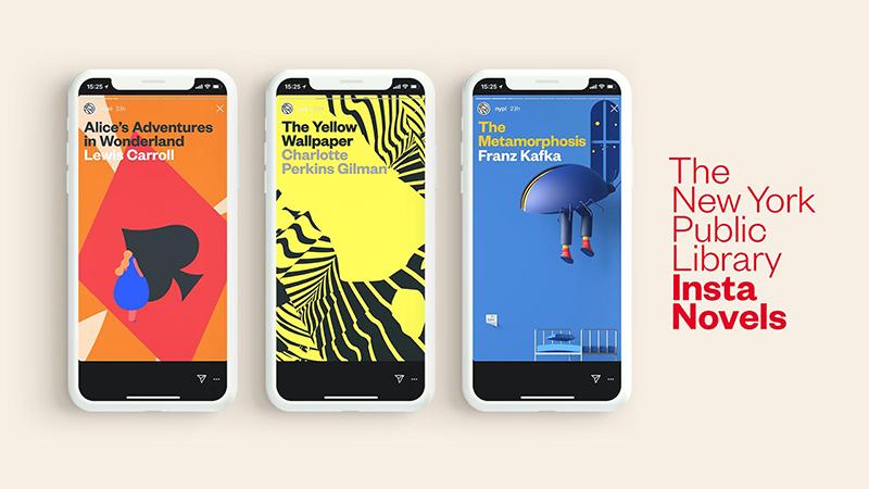 La Biblioteca Pública de Nueva York fomenta la lectura con la publicación de novelas clásicas en Instagram Stories